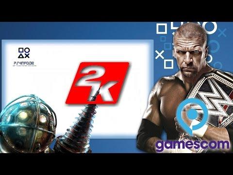 PS4INFO ZU BESUCH BEI 2KGAMES AUF DER #GAMESCOM2016 | #2K #PS4 #PS4INFO #Gamer