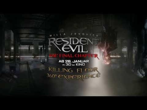 RESIDENT EVIL: THE FINAL CHAPTER - Killing Floor 360°