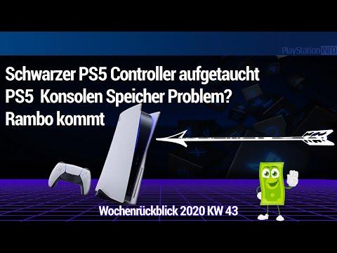 Schwarzer PS5 Controller - Konsolen Speicher zu klein? Rambo kommt 👍