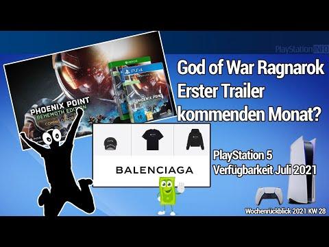God of War Ragnarok Trailer kommenden Monat PS5 Balenciaga Phoenix Point kommt auf die PS4