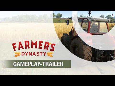 Farmer's Dynasty   Gameplay-Trailer