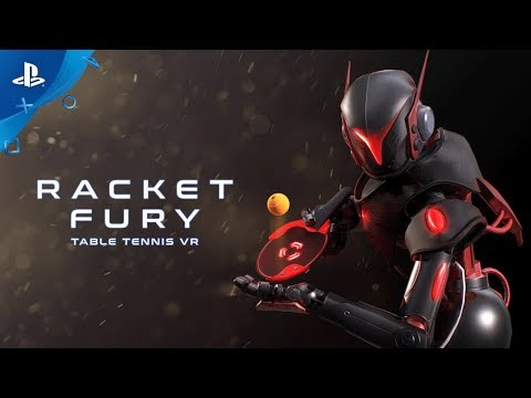 Racket Fury: Table Tennis - Launch Trailer | PS VR
