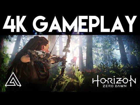 Horizon Zero Dawn   PS4 Pro 4K Gameplay
