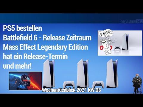 PS5 bestellen - BF6 und Mass Effect Legendary Edition Release Termin und mehr!