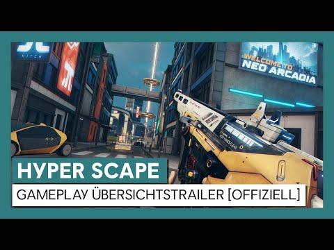 HYPER SCAPE - Gameplay Übersichtstrailer [OFFIZIELL] | Ubisoft [DE]