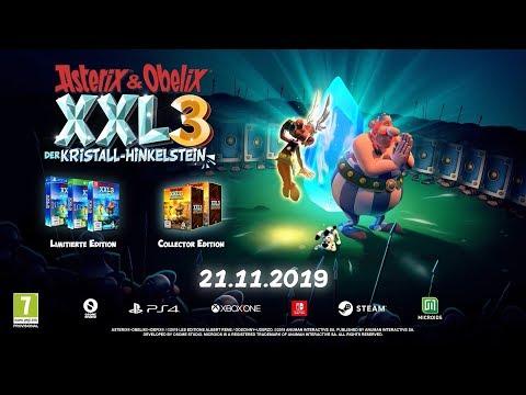 Asterix & Obelix XXL3: Der Kristall-Hinkelstein Teaser-Trailer (DE)