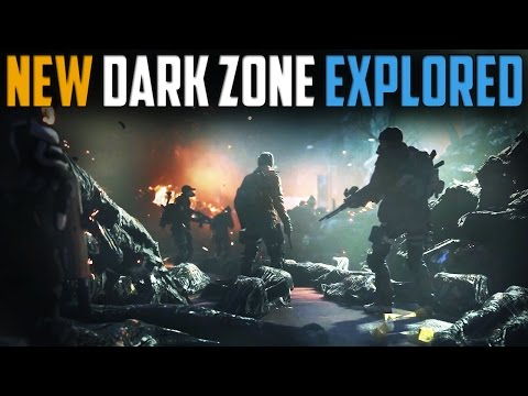 The Division   Detailed Look At The New Dark Zone   DZ07 - DZ09