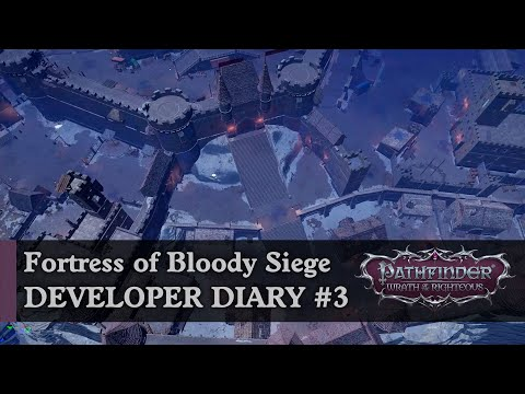 The Biggest Fantasy Fortress We've Ever Built   Wrath of the Righteous Developer Diary #3