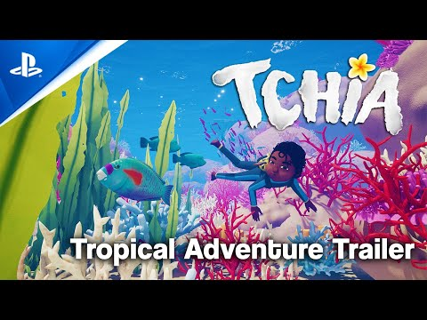 Tchia - PlayStation Showcase 2021: Tropical Adventure Trailer   PS5, PS4