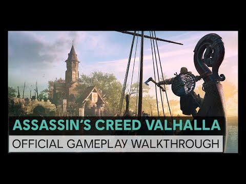 Assassin's Creed Valhalla: Official Ubisoft Forward 30 Minutes Gameplay Walkthrough