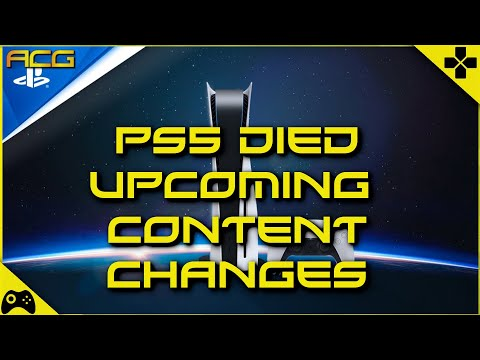 My Review PS5 Died - Changes to This Weeks Content Please Watch!