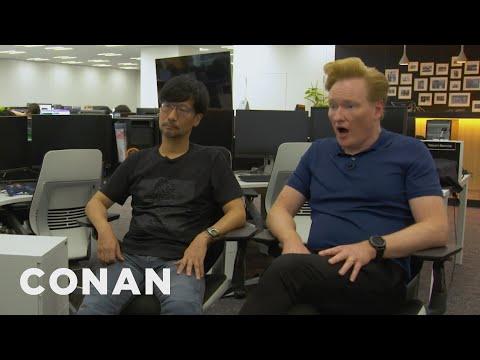 "Conan Visits The Offices Of ""Death Stranding"" Creator Hideo Kojima | CONAN on TBS"