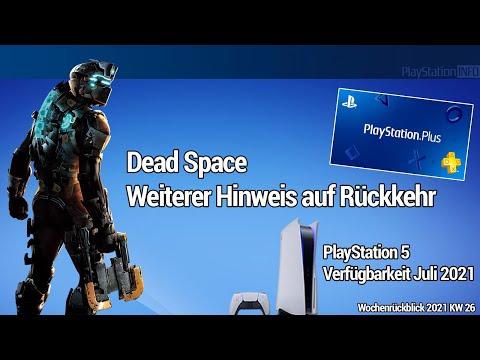 Rückkehr der Dead Space Reihe - PS55 Verfügbarkeit - PS Plus Juli und Ghost of Tsushima geht weiter