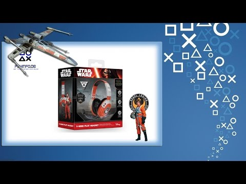 Turtle Beach Star Wars X Wing Pilot Headset | Unboxing | PS4