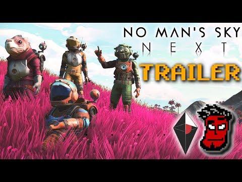 No Man's Sky NEXT Trailer Analyse! | No Man's Sky NEXT Gameplay Trailer [German Deutsch]