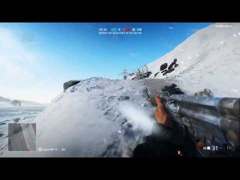 Battlefield V Gameplay - PC Alpha Best Moments - Narvik Map, Modes, Weapons, Building