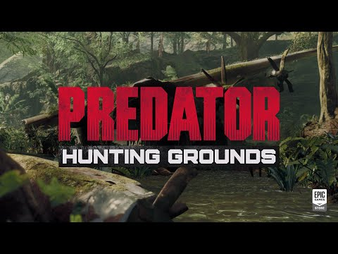 Predator: Hunting Grounds - Ultimate Adversary Trailer   Epic Games Store