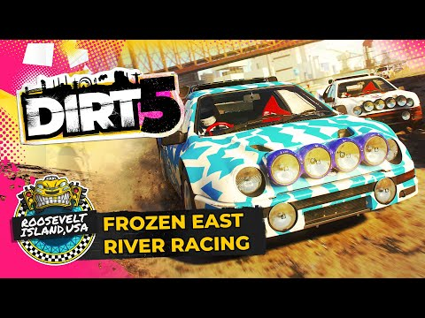 DIRT 5 Gameplay | New York Ice Racing Under Fireworks! | Xbox Series X / Series S, PS5