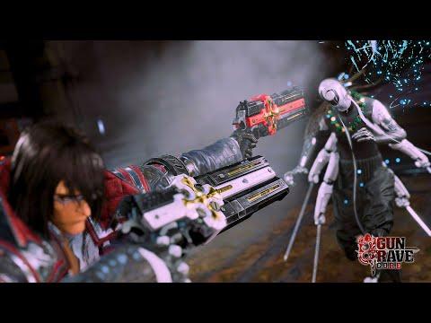 Gungrave G.O.R.E - Gameplay Reveal + Extended Cinematic Trailer [GLOBAL]