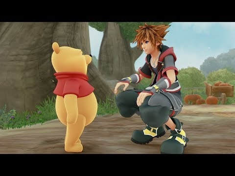KINGDOM HEARTS III – Winnie the Pooh Trailer (Closed Captions)