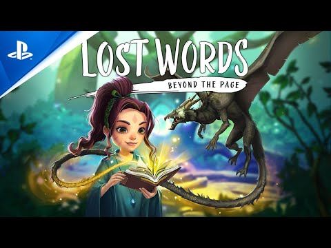 Lost Words: Beyond the Page - Launch Trailer   PS4
