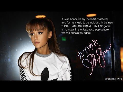 Ariana Grande – Touch It - FINAL FANTASY BRAVE EXVIUS Remix || Music Video Announcement