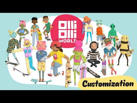 OlliOlli World - Official Customization Trailer
