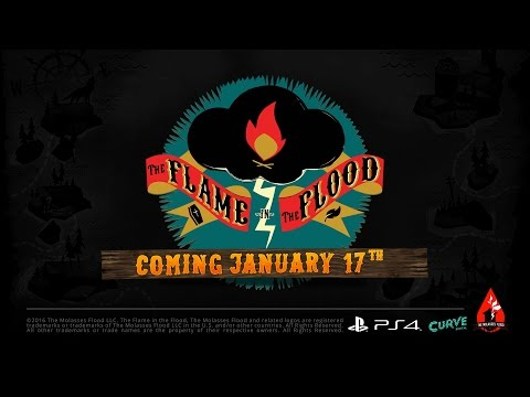The Flame in the Flood: Complete Edition PS4 Release Date Trailer - Official