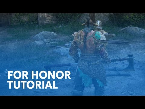 """FOR HONOR - """"Tutorial"""" Single-Player Gameplay // 1080p"""