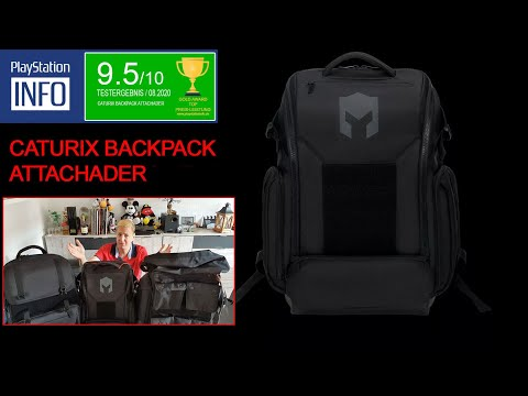 CATURIX E Sport Backpack ATTACHADER angetestet 💪 Gaming Rucksack