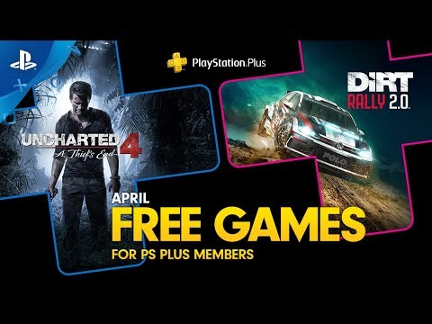 PlayStation Plus - Free Games Lineup April 2020 | PS4