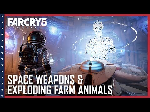 Far Cry 5: Space Weapons, Arachnids, and Exploding Farm Animals | Lost on Mars News | Ubisoft [NA]