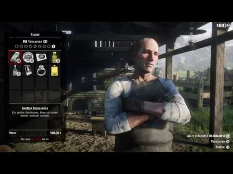 Red Dead Redemption 2 - Infinite Gold Bars unlimited money - Exploit - Glitch