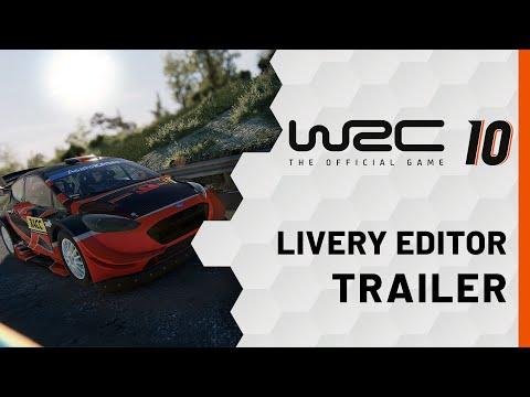WRC 10   Lackierungs-Editor Trailer
