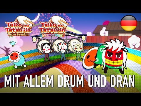 Taiko no Tatsujin - PS4/SWITCH - Mit allem Drum und dran (Teaser Trailer Deutsch)