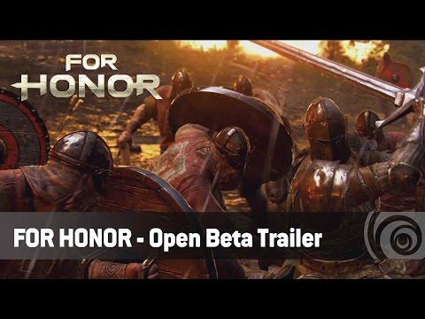 For Honor - Open Beta Trailer   Ubisoft [DE]