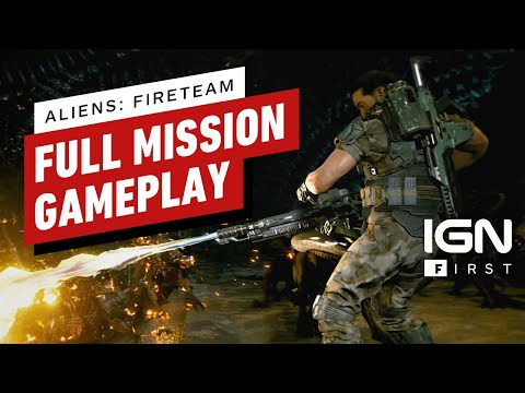 Aliens: Fireteam - Exclusive 25 Minutes of Gameplay   IGN First