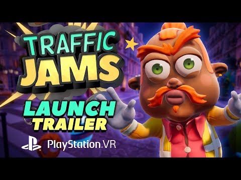 Traffic Jams   PS VR LaunchTrailer [PEGI]