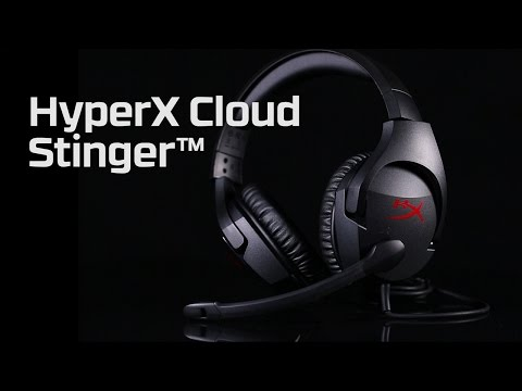 HyperX Cloud Stinger – komfortable Gaming-Headsets