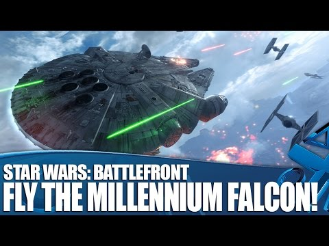 Star Wars Battlefront - New dogfight mode lets you fly the Millennium Falcon