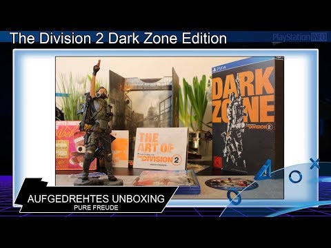 The Division 2 - Dark Zone Edition Unboxing *PURE FREUDE*