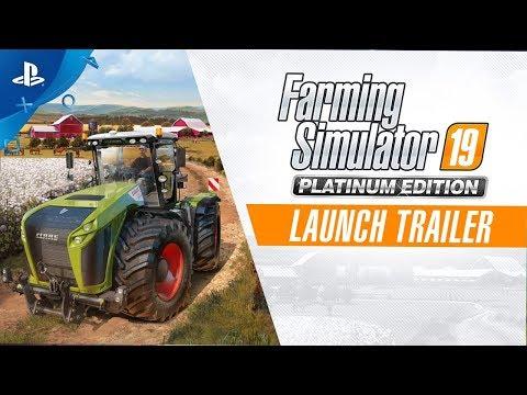 Farming Simulator 19 Platinum Edition - Launch Trailer   PS4
