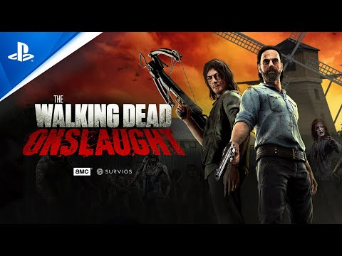 The Walking Dead Onslaught - Launch Trailer | PS VR