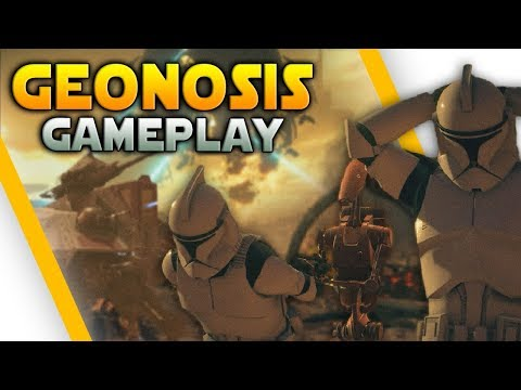 GEONOSIS GAMEPLAY & TIPS (AT-TE, STAP, BARC Speeder & More) - Battlefront 2