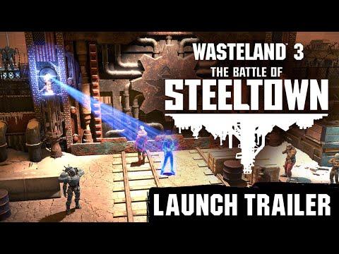 Wasteland 3: The Battle of Steeltown - Launch Trailer [DE]