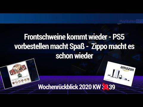 Frontschweine kommt wieder - PS5 vorbestellen macht Spaß und mehr