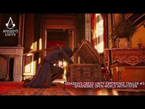 Assassin's Creed Unity Experience Trailer #3 - Spannende Open-World Aktivitäten [DE]