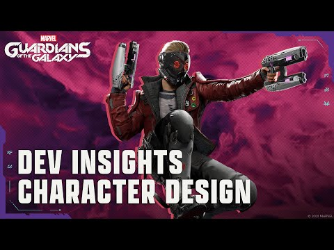 Marvel's Guardians of the Galaxy: Dev Insights - Character Design