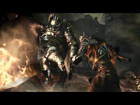 Dark Souls 3 Boss Battle Gameplay - Gamescom 2015