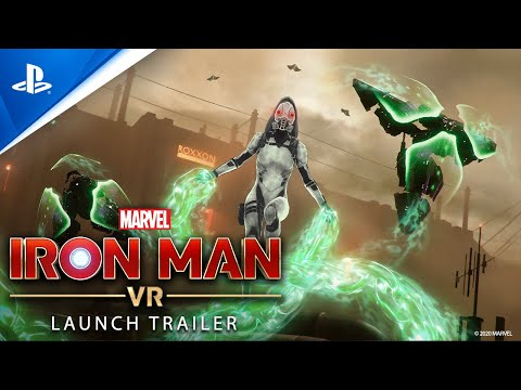 Marvel's Iron Man VR – Launch Trailer | PS VR